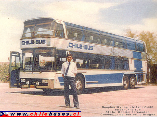 Neoplan Skyliner  /  Buses Chile Bus