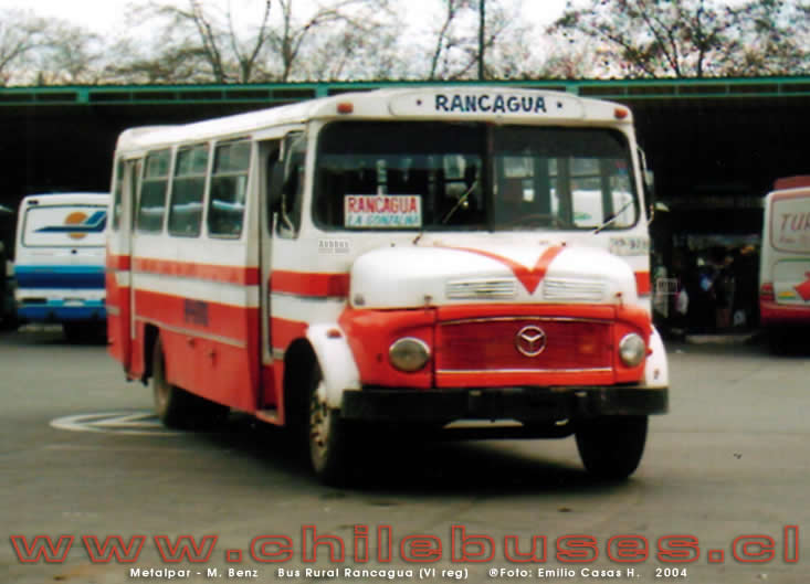Metalpar - M. Benz | Bus Rural Rancagua (VI reg)