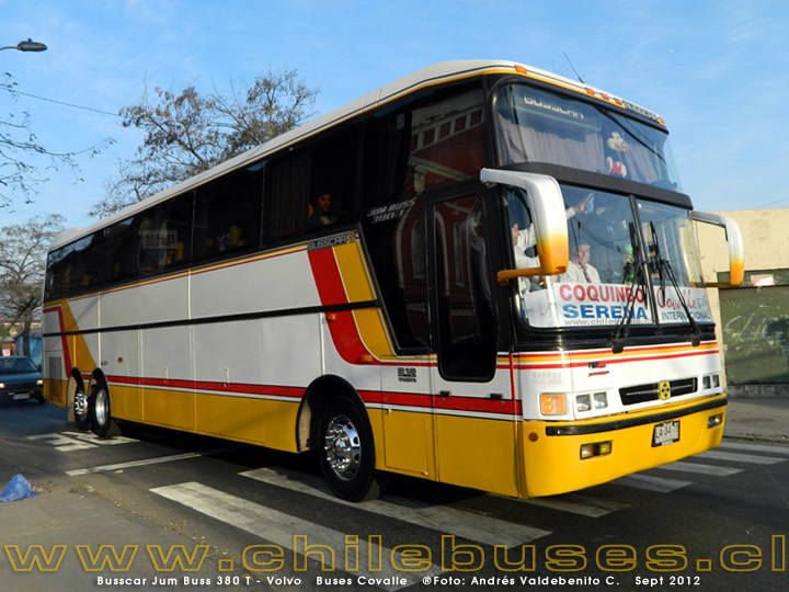 Busscar Jum Buss 380 T - Volvo | Buses Covalle