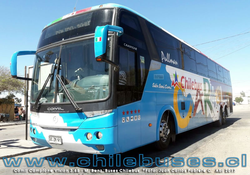 Comil Campione Vision 3.65 - M. Benz | Buses Chilebus