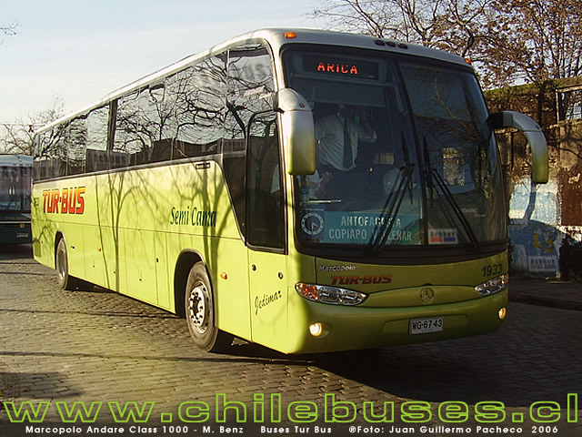 Marcopolo Andare Class 1000 - M. Benz   /  Buses Tur Bus