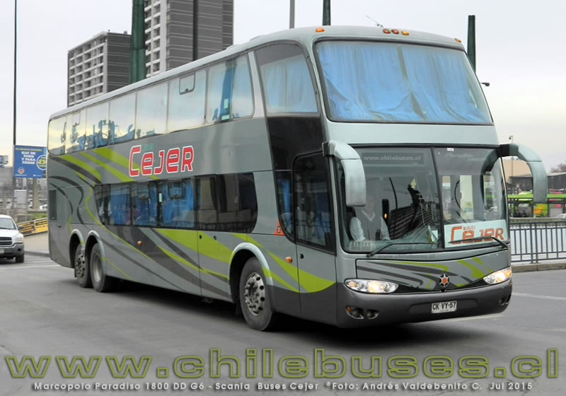 Marcopolo Paradiso 1800 DD G6 - Scania | Buses Cejer