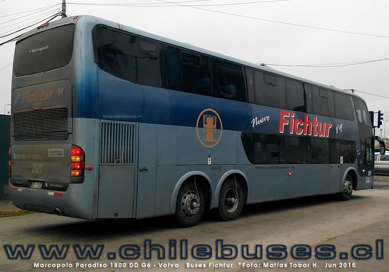 Marcopolo Paradiso 1800 DD G6 - Volvo | Buses Fichtur