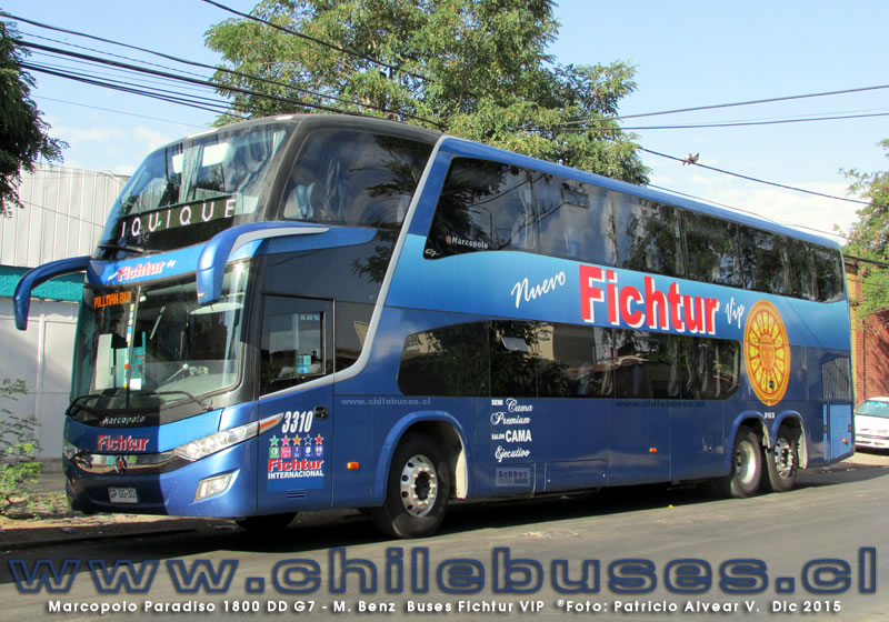Marcopolo Paradiso 1800 DD G7 - M. Benz | Buses Fichtur Vip