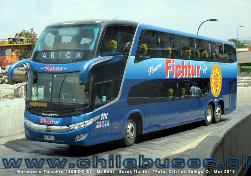 Marcopolo Paradiso 1800 DD G7 - M. Benz | Buses Fichtur