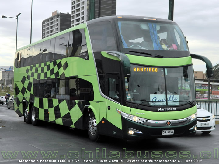 Marcopolo Paradiso 1800 DD G7 - Volvo | Buses Covalle