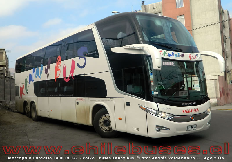 Marcopolo Paradiso 1800 DD G7 - Volvo | Buses Kenny Bus