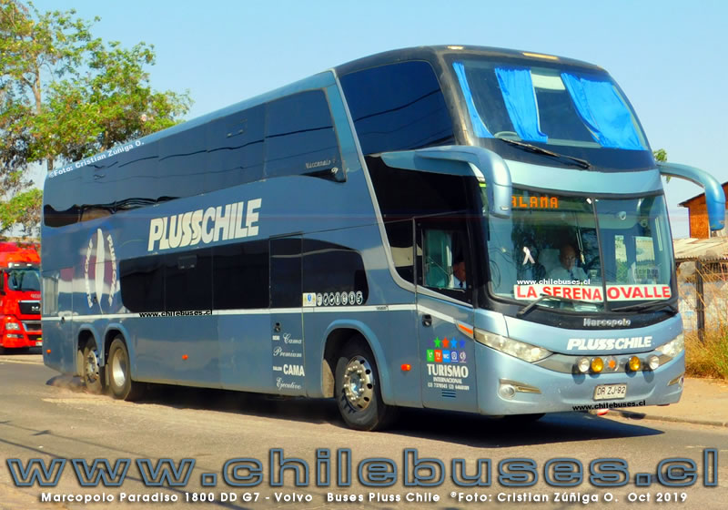 Marcopolo Paradiso 1800 DD G7 - Volvo | Buses Pluss Chile