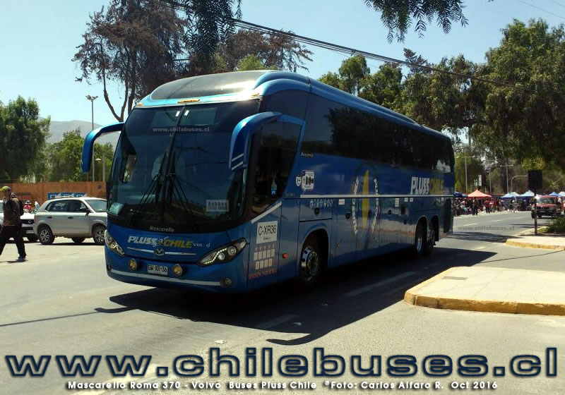 Mascarello Roma 370 - Volvo | Buses Pluss Chile