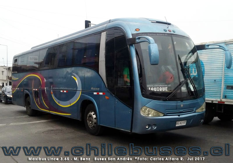 Maxibus Lince 3.45 - M. Benz | Buses San Andres