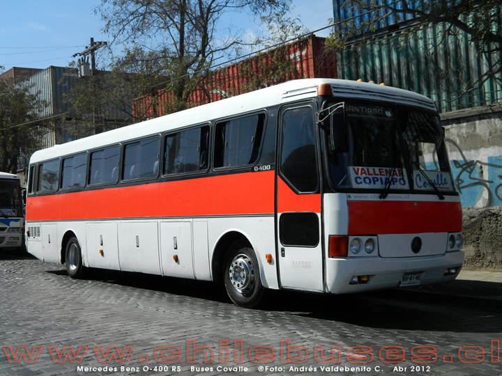 Mercedes Benz O-400 RS | Buses Covalle