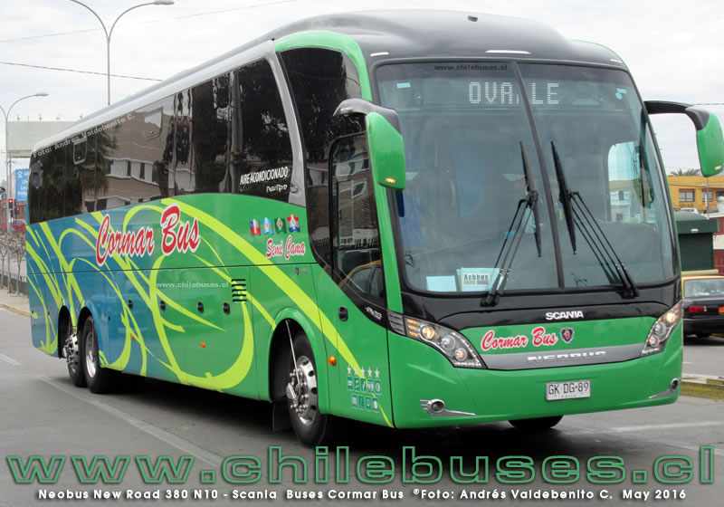Neobus New Road 380 N10 - Scania | Buses Cormar Bus