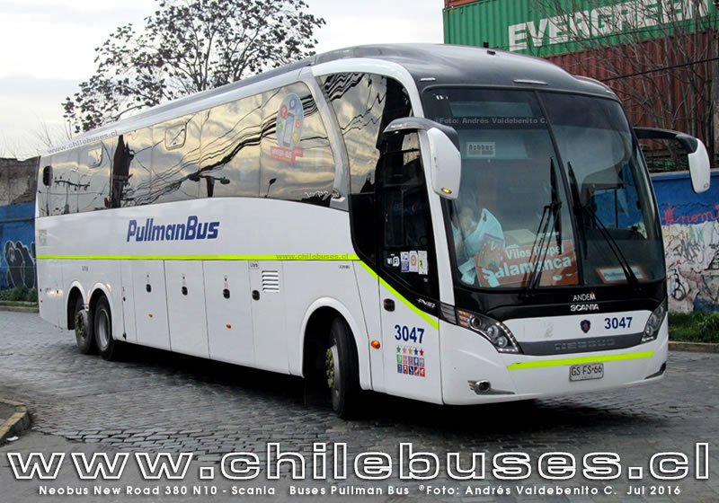 Neobus New Road 380 N10 - Scania | Buses Pullman Bus