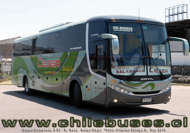 Comil Campione 3.45 - M. Benz | Buses Cejer