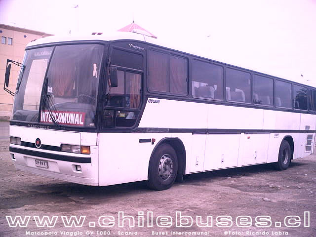 Marcopolo Viaggio GV 1000 - Scania / Buses Intercomunal