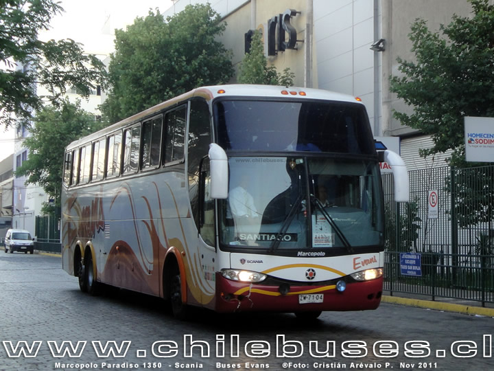 Marcopolo Paradiso 1350  - Scania | Buses Evans