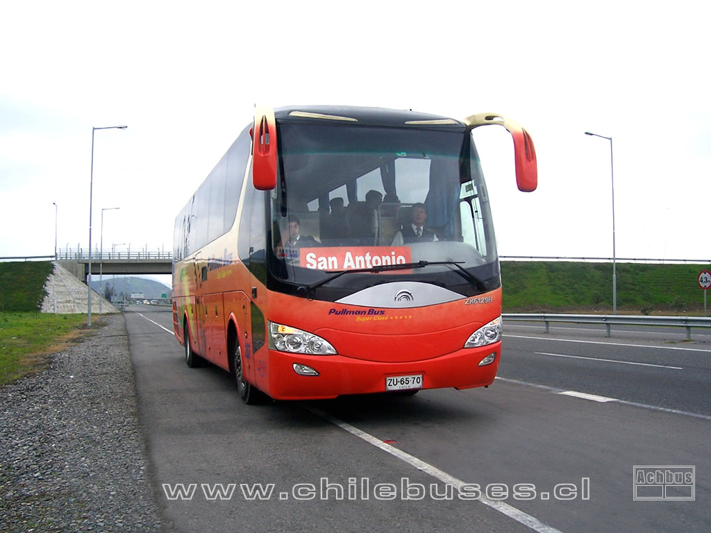 Ruta 78 / Yutong Intercity ZK6129H - Cummins / Buses Pullman Bus (Costa)