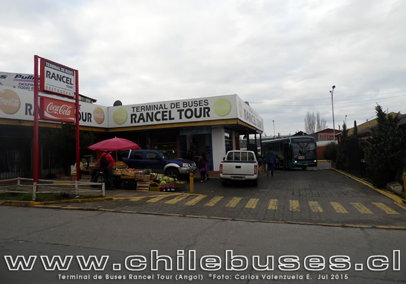 Terminal de Buses Rurales Rancel Tour (Angol)