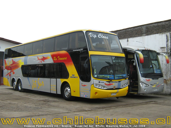 Busscar Panoramico DD - Scania | Buses Jet Sur