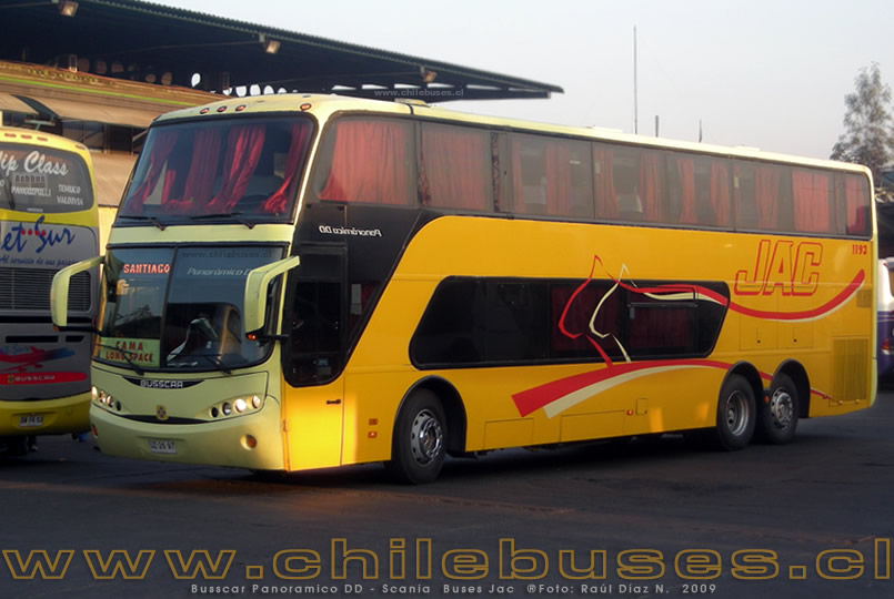 Busscar Panoramico DD - Scania | Buses Jac