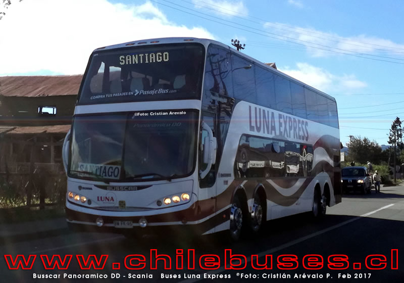 Busscar Panoramico DD - Scania  |  Buses Luna Express