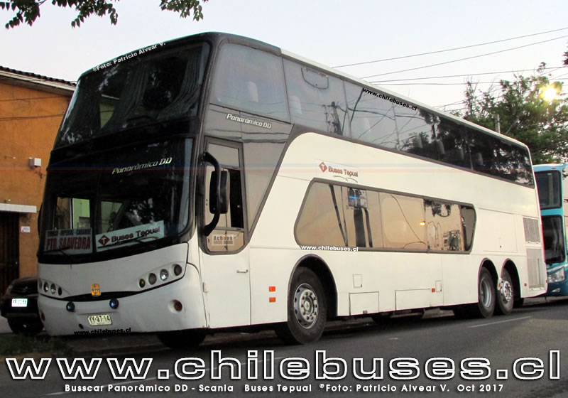 Busscar Panoramico DD - Scania | Buses Tepual