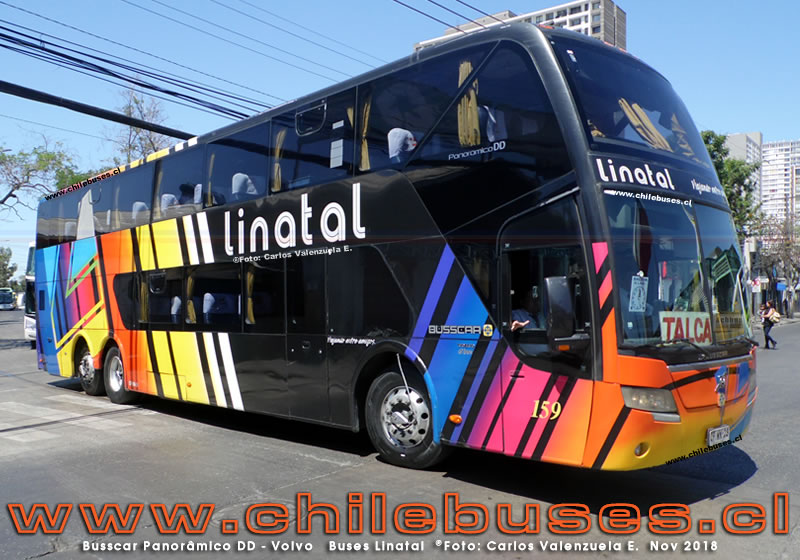 Busscar Panorâmico DD - Volvo | Buses Linatal