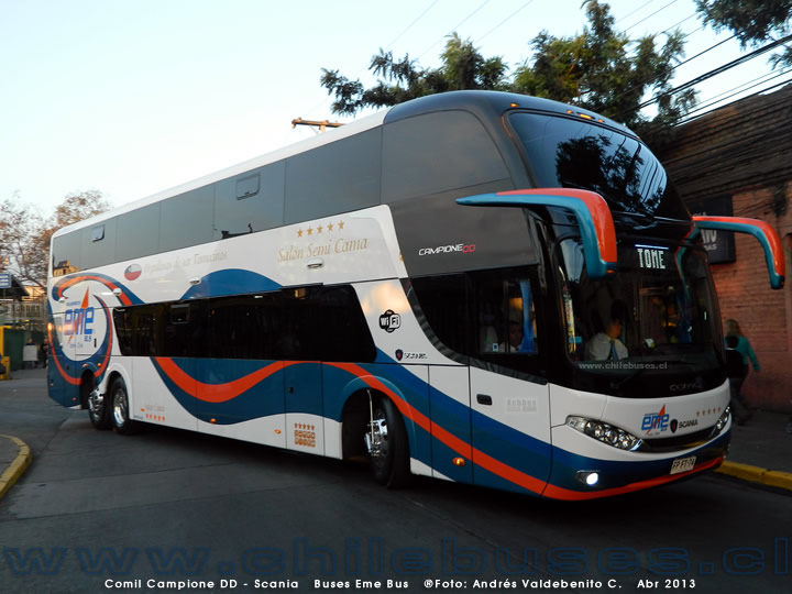Comil Campione DD - Scania | Buses Eme Bus