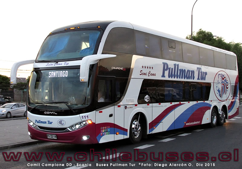 Comil Campione DD - Scania | Buses Pullman Tur