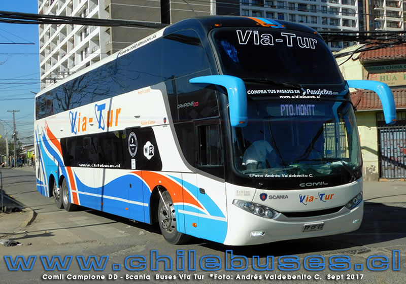 Comil Campione DD - Scania | Buses Via Tur