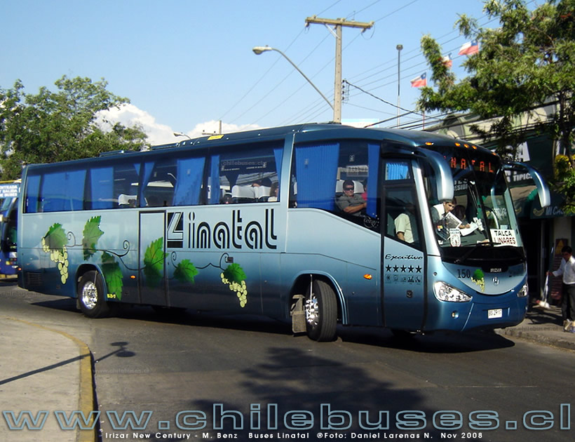 Irizar New Century - M. Benz | Buses Linatal