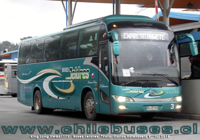 King Long XMQ6117Y - Buses Jeldres