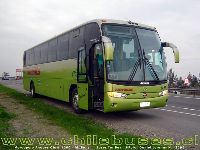 Marcopolo Andare Class 1000 - M.Benz  /  Buses Tur Bus