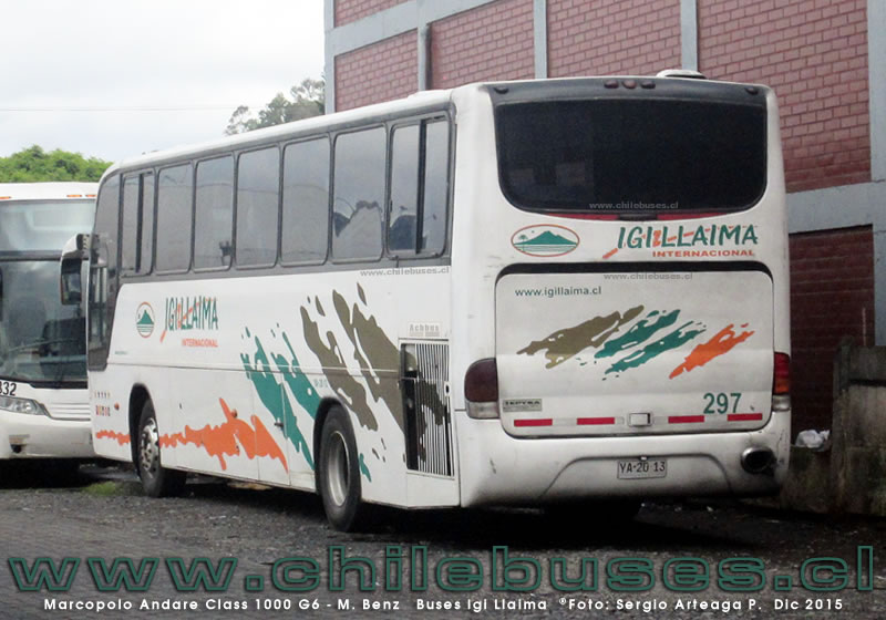 Marcopolo Andare Class 1000 G6 - M. Benz | Buses Igi Llaima