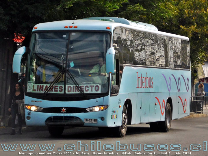 Marcopolo Andare Class 1000 G6 - M. Benz | Buses Interbus