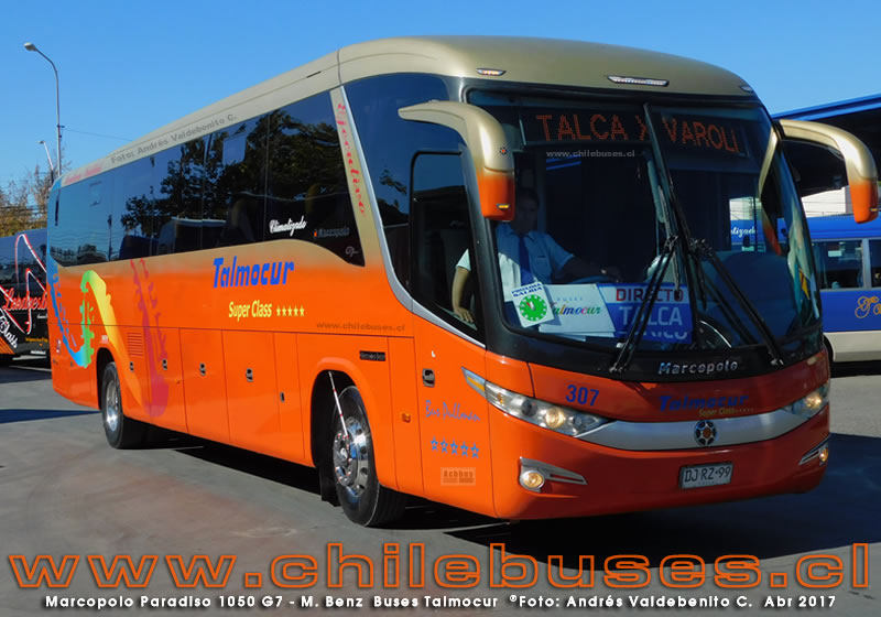 Marcopolo Paradiso 1050 G7 - M. Benz | Buses Talmocur