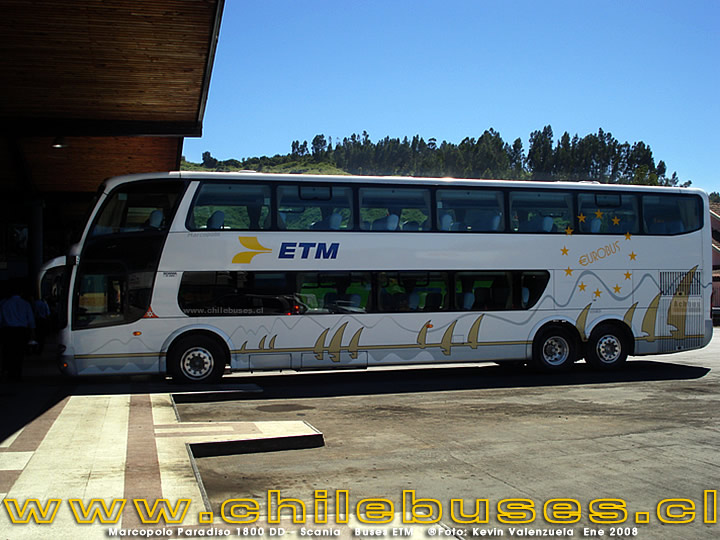 Marcopolo Paradiso 1800 DD - Scania | Buses ETM