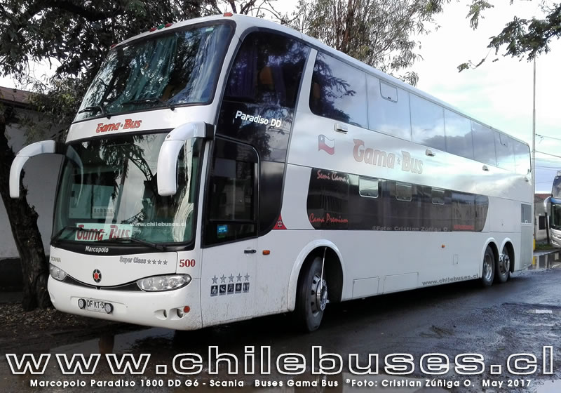 Marcopolo Paradiso 1800 DD G6 - Scania | Buses Gama Bus