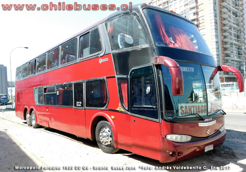 Marcopolo Paradiso 1800 DD G6 - Scania | Buses JANS