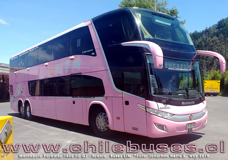 Marcopolo Paradiso 1800 DD G7 - Scania | Buses ETM