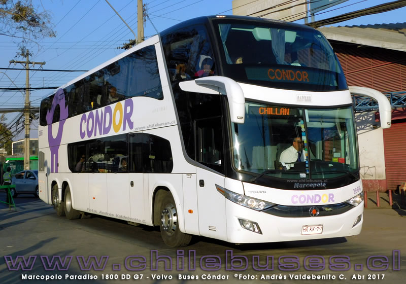 Marcopolo Paradiso 1800 DD G7 - Volvo | Buses C?ndor