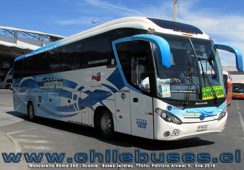 Mascarello Roma 350 - Scania | Buses Jeldres