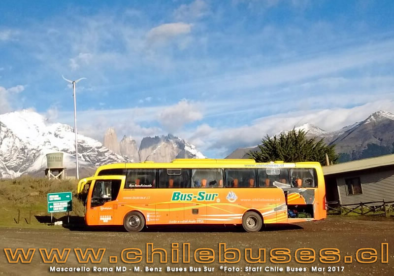 Mascarello Roma MD - M. Benz | Buses Bus Sur