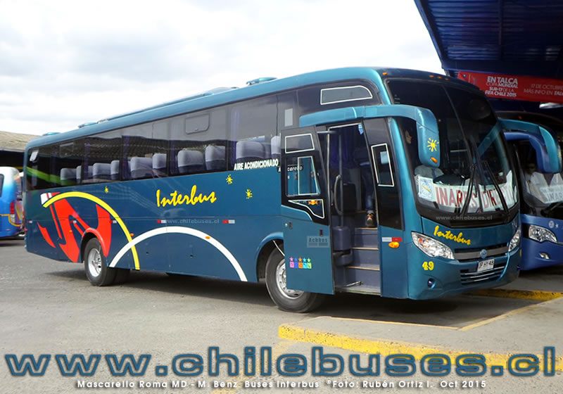 Mascarello Roma MD - M. Benz | Buses Interbus