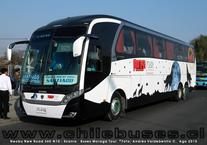 Neobus New Road 360 N10 - Scania | Buses Moraga Tour