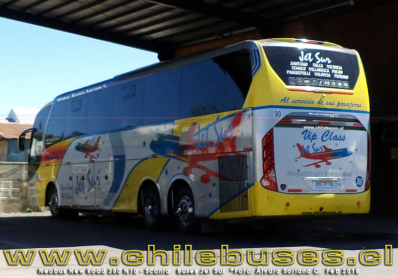 Neobus New Road 380 N10 - Scania | Buses Jet Sur