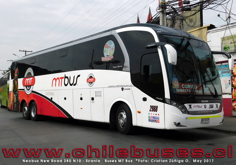 Neobus New Road 380 - Scania | Buses MT Bus