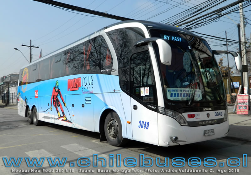 Neobus New Road 380 N10 - Scania | Buses Moraga Tour