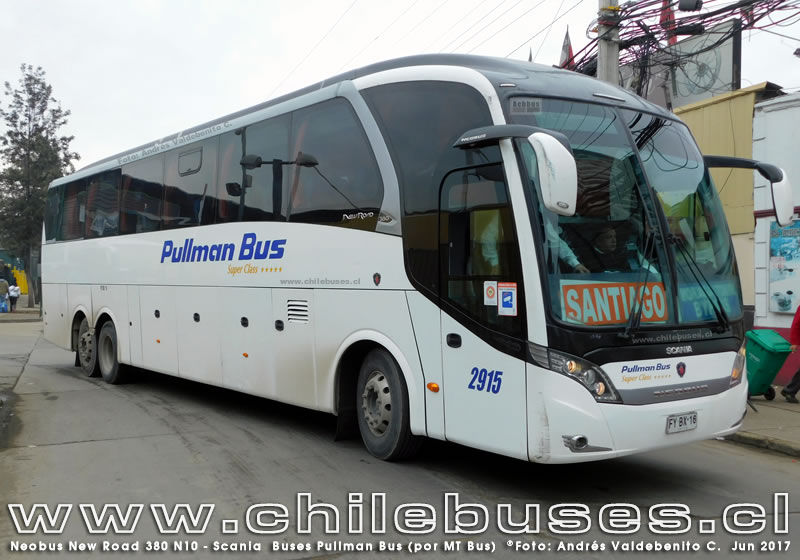 Neobus New Road 380 N10 - Scania | Buses Pullman Bus (por MT Bus)