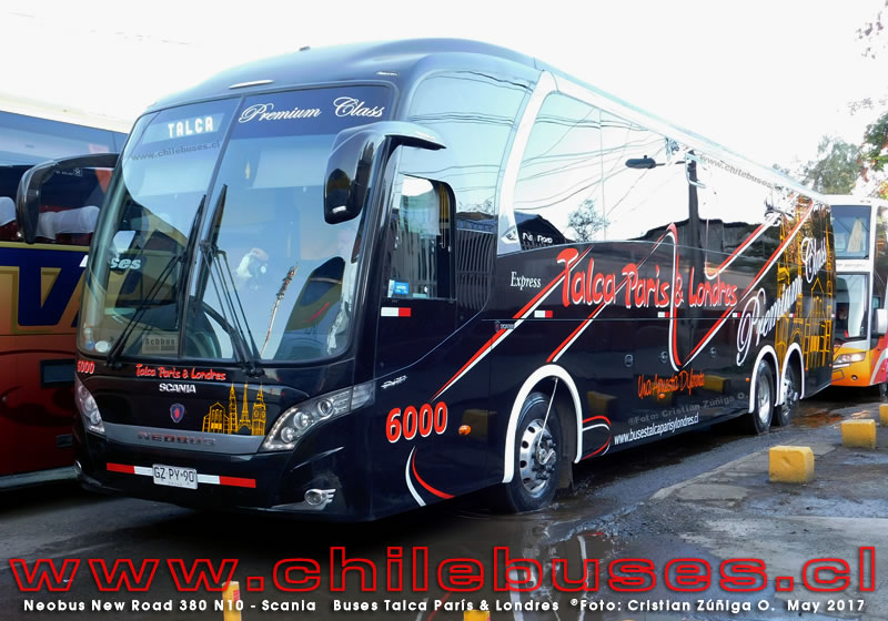 Neobus New Road 380 - Scania | Buses Talca Par?s & Londres